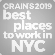Crain's Best Places to work 2019